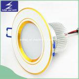 고품질 3 인치 둥근 LED에 의하여 중단되는 천장 Downlight