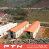 Casa modular pré-fabricada do recipiente para o acampamento/acomodação da mineração com cozinha/escritório/toalete