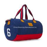 El peso ligero lleva el bolso de la gimnasia del deporte del fin de semana del bolso de tela de lana basta de Trave