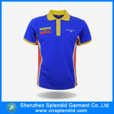 Forma Custom Polo Shirt, t-shirt de Short Sleeve Polo para Man