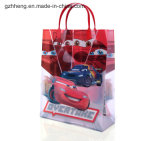 Verkoop Plastic Shopping Bag met Clip Handle (zak PVC/PE)