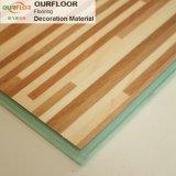 Planches de plancher de vinyle de plancher de clic de vinyle de PVC WPC avec le système de verrouillage