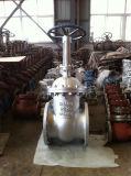 Valvola a saracinesca aumentante del gambo del acciaio al carbonio di BACCANO Pn40 F7 con Ce