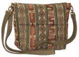 Ретро Canvas Shoulder Cross Body Messenger Beach Bag для Ladies