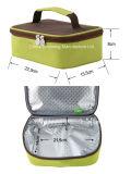 sacchetto più freddo del pranzo isolato spalla di piccola dimensione del poliestere 600d