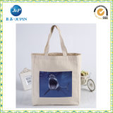 100%年の綿愛ピンクのキャンバス袋(JP-CB009)