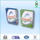 Caixa de papel de embalagem de lavar roupa detergente em pó