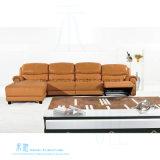 ホーム(HW-8196S)のための現代居間のL形のリクライニングチェアのソファー