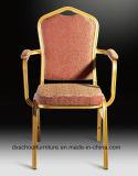 Armrestが付いているアルミニウムホテルの宴会の椅子