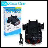 xBox Oneのための二重Console Cooling Fan Cooler Stand Charging Station