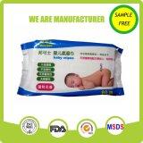 芳香の自由な極度の柔らかい卸し売り赤ん坊のワイプ