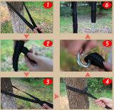 Porte les meilleures courroies d'arbre avec 2 courroies libres d'hamac de Carabiners