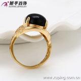 Ювелирные изделия Men Ring Золота-Plated Luxury 18k способа с Environmental Copper -12846
