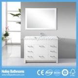 Американская горячая продавая классицистическая мебель ванной комнаты твердой древесины (BV115W)