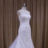 Реальный образец платья венчания Mermaid