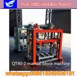 Máquina do bloco de cimento da alta qualidade da tecnologia de Alemanha mini de China