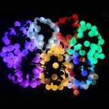 свет шнура шарика рождества СИД размера шарика 23mm с по-разному цветами