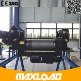 Double élévateur électrique de câble métallique de poutre de 25 tonnes (MLER25-06D)