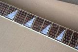 Guitare musique/12-String électrique Semi-Creuse de Hanhai avec le corps bleu