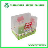 Transparenter freier verpackenkasten des Frosting-Plastikpp.