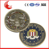 Monedas cobrables del metal de encargo profesional de China