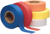 Orange PVC Flagging Tape mit Fluorescent und Embossing