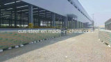 Fábrica prefabricada de la estructura de acero/taller/Godown de la estructura de acero del marco de Lgs