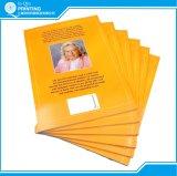 Impressão educacional do livro do estudante do emperramento perfeito
