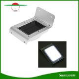 Luz impermeable al aire libre solar brillante del jardín de la pared de la seguridad del sensor de movimiento de 16 LED