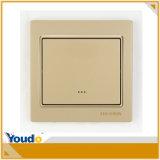 Interruptor de controle remoto do redutor de WiFi do ouro