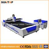 Type économique machine de découpage de laser de fibre pour la machine de coupeur de laser d'acier/en métal à vendre