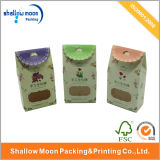 Plastic Window (AZ-121706)를 가진 도매 Custom Cardboard Food Packaging Box