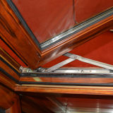 Buntes Aluminiumprofil-Flügelfenster-Fenster mit Bildschirm Kz197
