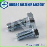 (洗濯機の顔をした)DIN933六角ボルト(FULLY THREADED)グレード/クラス2〜10.9ブルー、ホワイト亜鉛メッキヘッドマーキング:NbのかYHCを