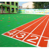 Jardim de infância de borracha do coxim do revestimento EPDM do campo de jogos (XYH-13140-1)