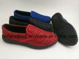 熱い販売のキャンバスのスポーツの靴、人のための注入の余暇の靴、通気性のスリップオンのズック靴