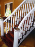 Классицистический тип Euramerican вполне реальных деревянных лестниц