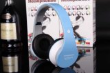 Auscultadores estereofónico dos auriculares de Handfree Bluetooth com o jogador do cartão FM MP3 do TF