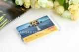 Крен силы формы кредитной карточки с изготовленный на заказ логосом