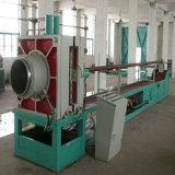 Tubo ondulado do metal flexível que faz a máquina