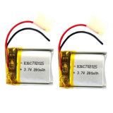 Lipo Battery 3.7V 280mAh 702025 Rechargeable李Polymer Battery