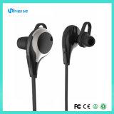 Écouteur stéréo sans fil d'écouteur d'écouteur de Bluetooth pour le noir de Samsung d'iPhone