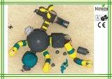Série antiga plástica do tribo da alta qualidade LLDPE do tipo de Kaiqi que Thatching o campo de jogos ao ar livre da casa para crianças
