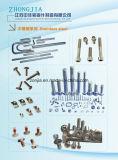 Edelstahl-Schrauben-volle Gewinde-Stift-Schrauben oder halbe Gewinde-Stift-Schrauben