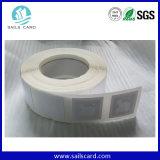 Identificação que segue, etiqueta da logística do controle de inventário RFID
