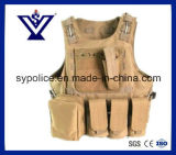 Tactical Paintball Combat Soft Gear Molle Airsoft Military Vest (SYSG-223)