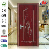 Puerta popular del PVC de los paneles calientes de la venta 5