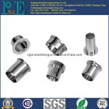 Coussinet en aluminium anodisé par coutume de haute précision