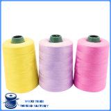 Amorçage de couture tourné par 100% de faisceau de polyester de Wraped de coton pour Jean/vêtement
