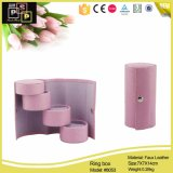 Hello Pink Color PU Manicure Box